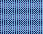 Op Art Thousand Circles Pale Blue Dark Blue Over Green poster