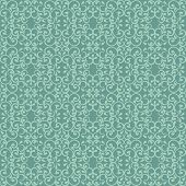 Fashionable seamless pattern with a vintage style in green. poster