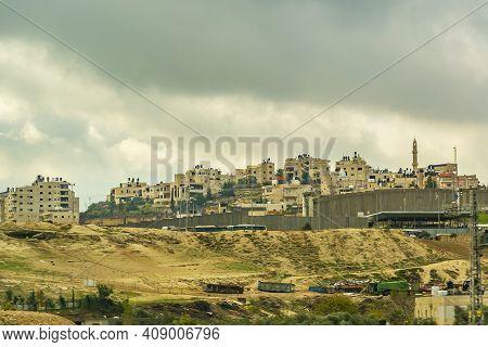 Concrete Wall Separation, Jerusalem City