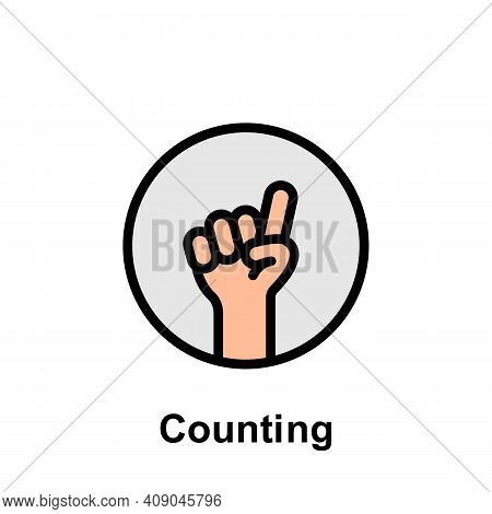 Ramadan Counting Outline Icon. Element Of Ramadan Day Illustration Icon. Signs And Symbols Can Be Us