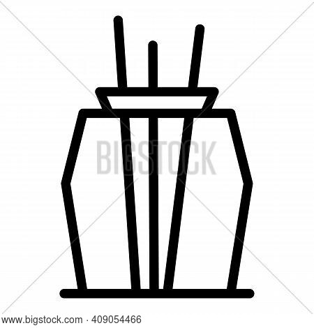 Container Air Freshener Icon. Outline Container Air Freshener Vector Icon For Web Design Isolated On