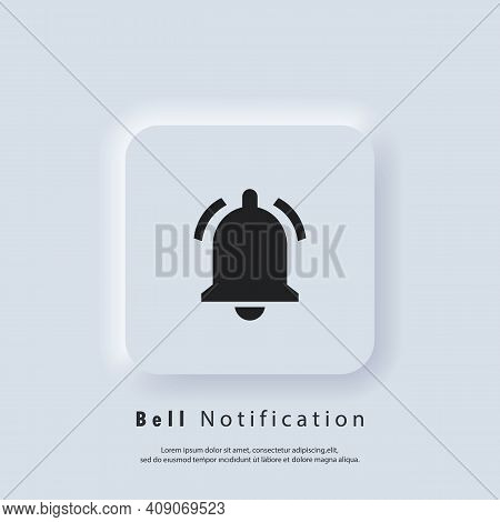 Notification Icon. Bell Notification And Sound Icons. Notification Bell Icon For Incoming Inbox Mess