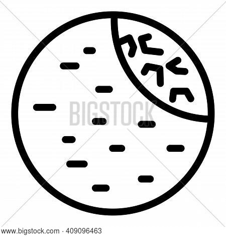 Israel Falafel Icon. Outline Israel Falafel Vector Icon For Web Design Isolated On White Background
