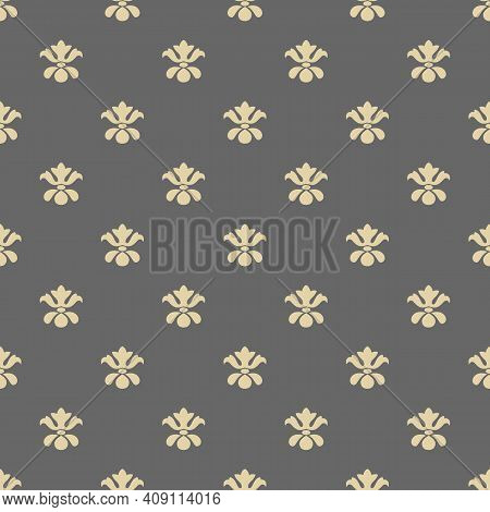Foulard Tie Pattern, Seamless, Victorian Motives, Greek Urn Motives.