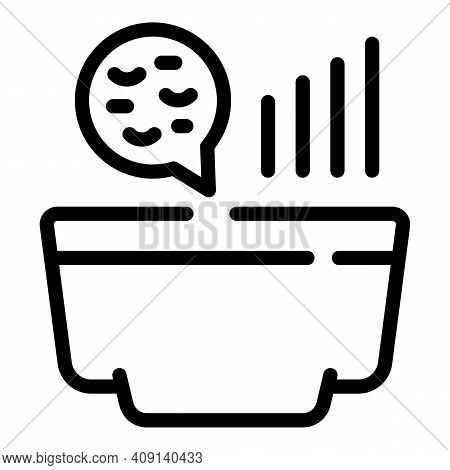 Fermentation Bacteria Icon. Outline Fermentation Bacteria Vector Icon For Web Design Isolated On Whi