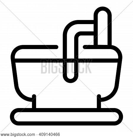 Dairy Production Equipment Icon. Outline Dairy Production Equipment Vector Icon For Web Design Isola