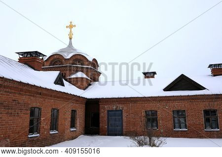 Buildings Of John The Baptist Monastery In Sviyazhsk