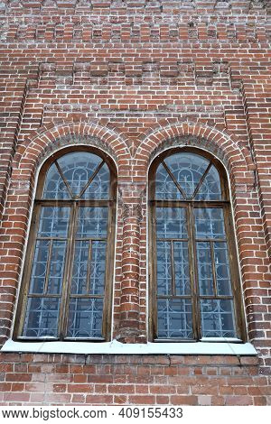 Windows Of Temple Of The Mother Of God In Sviyazhsk