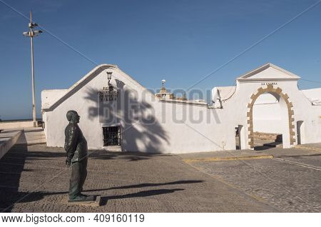 Cadiz, Spain - March 7 2020: Square Called \