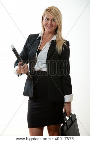 Attractive Twenties Caucasian Business Woman