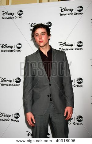 LOS ANGELES - JAN 10:  Sterling Beaumon attends the ABC TCA Winter 2013 Party at Langham Huntington Hotel on January 10, 2013 in Pasadena, CA