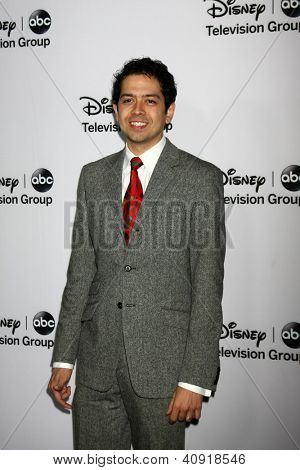 LOS ANGELES - JAN 10:  Geoffrey Arend attends the ABC TCA Winter 2013 Party at Langham Huntington Hotel on January 10, 2013 in Pasadena, CA