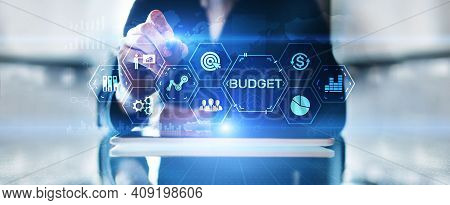 Budget Planning Budgeting Financial Management Accounting Business Finance Concept