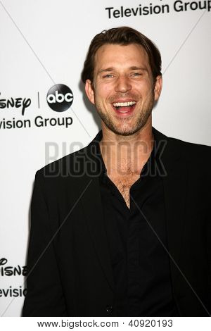 LOS ANGELES - JAN 10:  Wil Traval attends the ABC TCA Winter 2013 Party at Langham Huntington Hotel on January 10, 2013 in Pasadena, CA