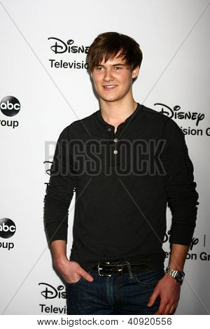 LOS ANGELES - JAN 10:  Justin Prentice attends the ABC TCA Winter 2013 Party at Langham Huntington Hotel on January 10, 2013 in Pasadena, CA