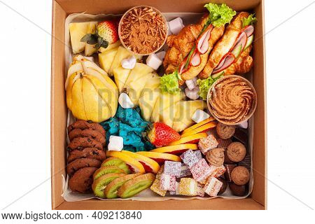 Gastronomic Box, Food Box, Home Delivery Of Ready Meals. Food For Holiday, Dinner, Corporate. Cateri
