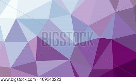Abstract Geometric Rumpled Triangula Background Low Poly Style. Vector Illustration Graphic Backgrou