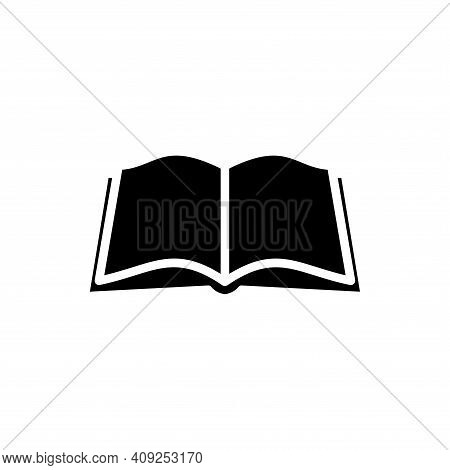 Open Book Icon Vector. Open Book Icon Isolated On White Background. Open Book Icon Simple And Modern