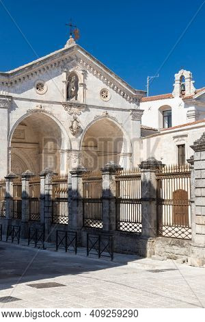 Sanctuary of San Michele Arcangelo, UNESCO site, Monte Santangelo, Puglia, Italy