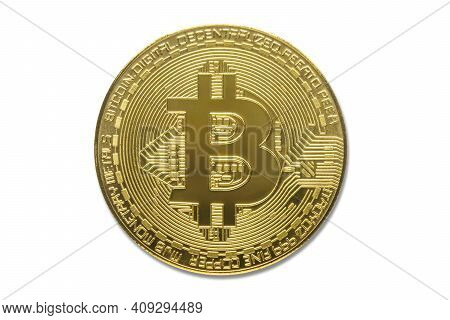 Bitcoin Crypto Currency. Bitcoin Blockchain Is The Best Digital Money For Financial Business, Global