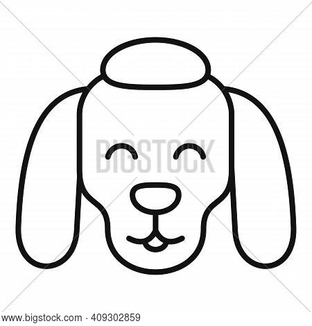 Dog Groomer Icon. Outline Dog Groomer Vector Icon For Web Design Isolated On White Background