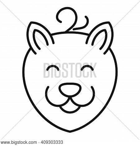 Cat Groomer Icon. Outline Cat Groomer Vector Icon For Web Design Isolated On White Background