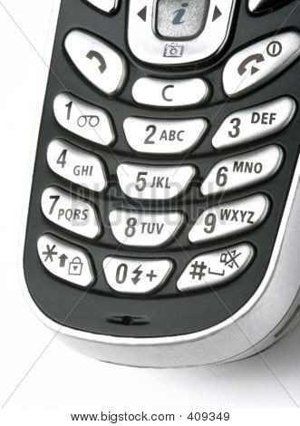 Keypad Of The Phone