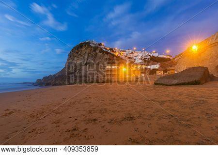 Azenhas do Mar - Portugal - travel background