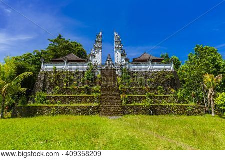 Lempuyang temple - Bali Island Indonesia - travel and architecture background