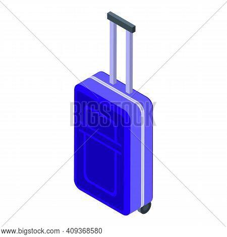 Luggage Icon. Isometric Of Luggage Vector Icon For Web Design Isolated On White Background