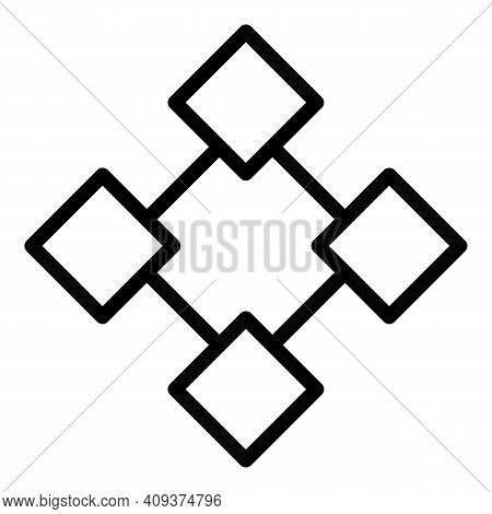 Creative Redesign Icon. Outline Creative Redesign Vector Icon For Web Design Isolated On White Backg