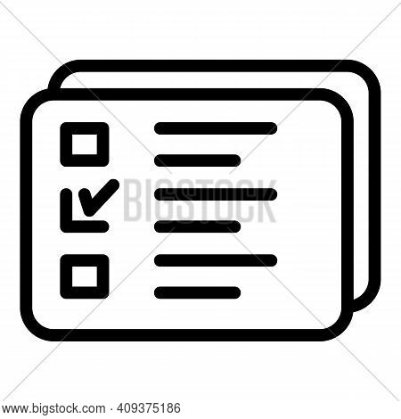 Redesign List Icon. Outline Redesign List Vector Icon For Web Design Isolated On White Background