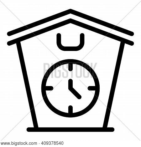 Part Time Job Icon. Outline Part Time Job Vector Icon For Web Design Isolated On White Background