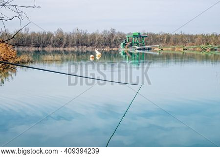 An image of a Quarry pond gravel pit