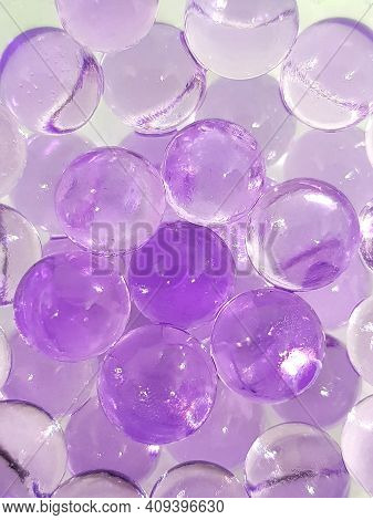 Manh Purple Bubbles Shinning Our The Eyes