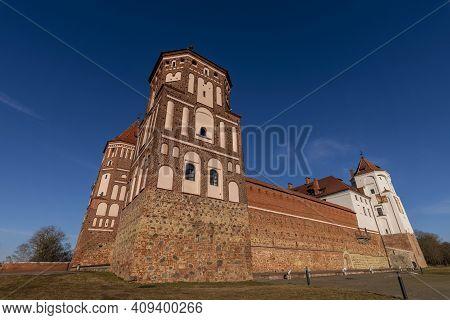 Mir Medieval Ancient Castle, In Mir, Belarus