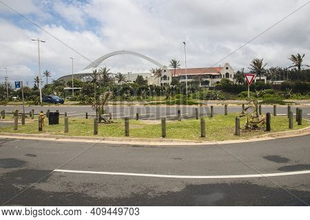 View Of Moses Mabhida Stadium And Durban Country Club