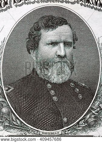 George Henry Thomas A Portrait From Old American Money