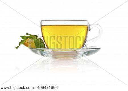 Tea Concept. Hot Tea Cup, Masala Tea (masala Chai). Hot Indian Drink Based On Milk And Tea With The