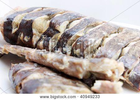roasted fish sheatfish