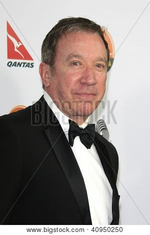 LOS ANGELES - JAN 12: Tim Allen at the 2013 G'Day USA Los Angeles Black Tie Gala at JW Marriott on January 12, 2013 in Los Angeles, California