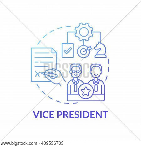 Vice President Concept Icon. Company Top Management Jobs. Executive Who Reports To Company President