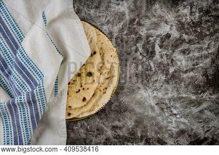 Pesach Celebration Symbol Of Great Judaism Religious Jewish Holiday Matza On Passover