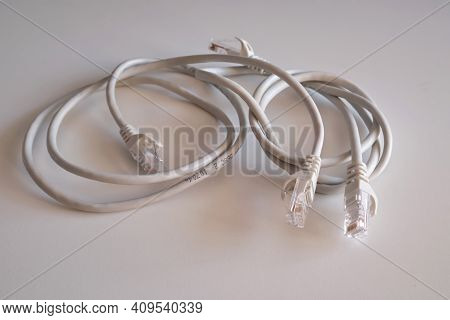 Modem Cable, Phone Data Cable. Onnection, Cable, Telephone