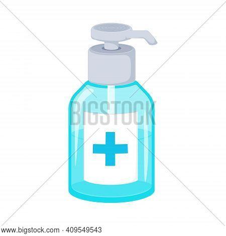 Hand Sanitizer Pump Bottle, Washing Gel, Alcohol Gel. Coronavirus Prevention Medical Surgical Masks