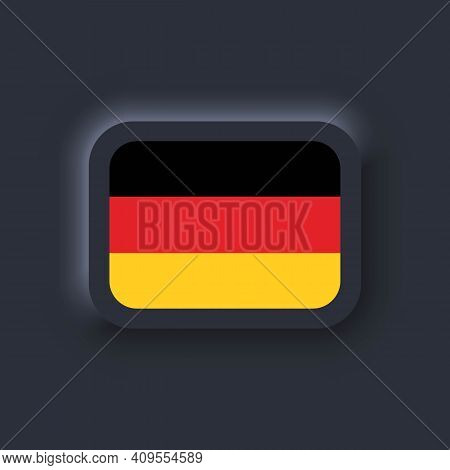 Flag Of Germany. National Germany Flag. German Flag. Germany Symbol. Vector Illustration. Eps10. Sim