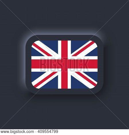 Flag Of United Kingdom. National United Kingdom Flag. United Kingdom Symbol. Vector. Simple Icons Wi