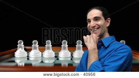 Businessman And Chess-3