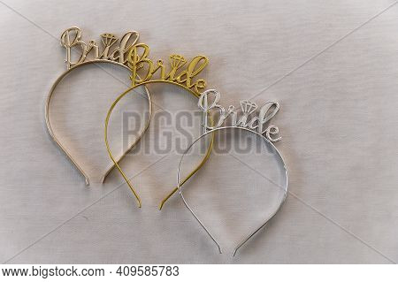 Wedding Decorations. Accessories For A Bachelorette Party. Wedding Hoop. Female Hoop. Hairpin For Th