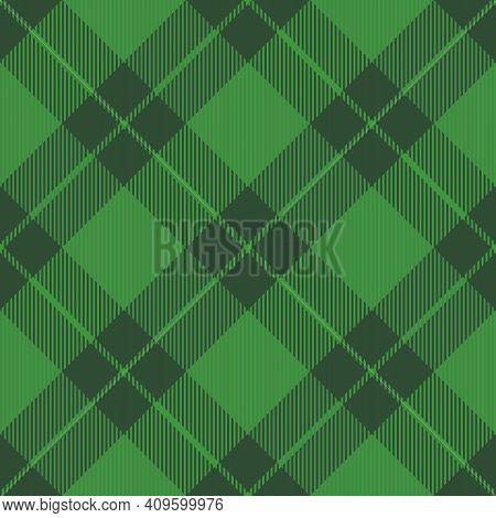 17518 - St. Patricks Day Dioganal Tartan